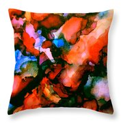 Jeweltones Throw Pillow