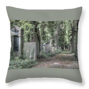 Jewish Cemetery Weissensee Berlin Germany Throw Pillow