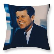 Jfk John F Kennedy Throw Pillow by Official White House Photo