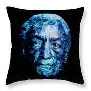 Jiddu Krishnamurti Throw Pillow