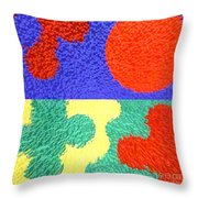 Jigsaw Pieces Throw Pillow