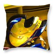 Jim Cipriano's Helmet Throw Pillow