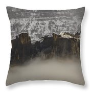 Jim Mountain   #6516 Throw Pillow