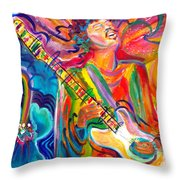 Jimi 2 Throw Pillow