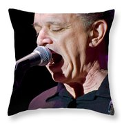 Jimmie Vaughan Sings The Blues Throw Pillow