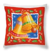 Jingle Bells Throw Pillow