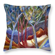 Jn126 Shelter 2 Throw Pillow