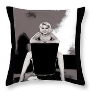 Joan Blondell Warner Brothers Publicity Photo Early 1930's-2014 Throw Pillow