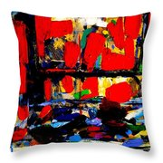 Joan Miro Quote   I Try To Apply Colors Like Words That Shape Poems Like Notes That Shape Music Throw Pillow