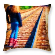 Job 24 13 Throw Pillow