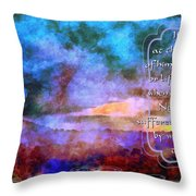Job 31 29 30 Throw Pillow