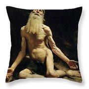 Job Throw Pillow