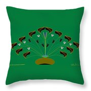 Jocelyn's Flower Throw Pillow
