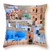 Jodhpur - Rajasthan - India Throw Pillow