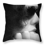 Joe At Eighteen Throw Pillow
