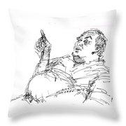Joe The Italian Throw Pillow
