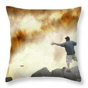 Joe Vs. The Volcano Throw Pillow