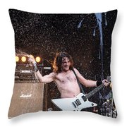 Airbourne Joel O'keeffe Throw Pillow