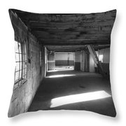 Joe's Garage Throw Pillow
