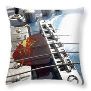 Joe's Guitar Throw Pillow