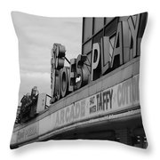 Joe's Playland Throw Pillow
