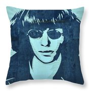 Joey Ramone Throw Pillow