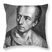 Johann Joachim Winckelmann (1717-1768) Throw Pillow