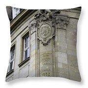 Johann Maria Farina Factory 1709 Cologe Germany Throw Pillow