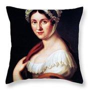 Johanna Wagner (1774-1848) Throw Pillow