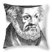 Johannes Aepinus (1499-1553) Throw Pillow
