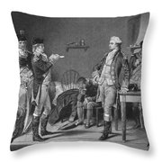 John Andre (1751-1780) Throw Pillow