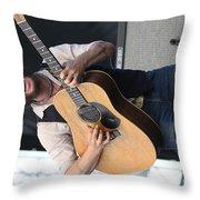 John Butler Trio Throw Pillow