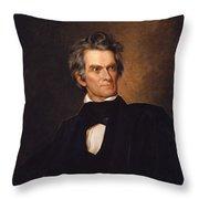John C Calhoun Throw Pillow
