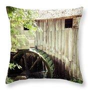 John Cable Mill Throw Pillow