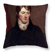 John Constable (1776-1837) Throw Pillow