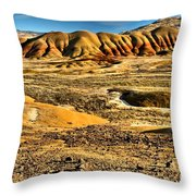 John Day Oregon Landscape Throw Pillow