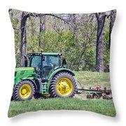 John Deere 1 Throw Pillow