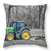 John Deere 2 Throw Pillow