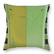 John Deere Grill Throw Pillow