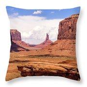 John Ford Point - Monument Valley - Arizona Throw Pillow