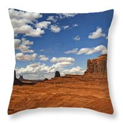 John Ford Point - Monument Valley  Throw Pillow