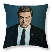 John Goodman Throw Pillow