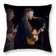 John Gorka And Michael Manring In Concert Throw Pillow