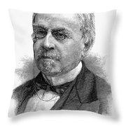John Guy Vassar (1811-1888) Throw Pillow