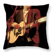 John Hiatt Throw Pillow