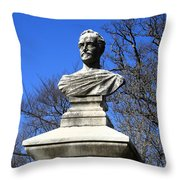 John Howard Payne -- Home Sweet Home Throw Pillow