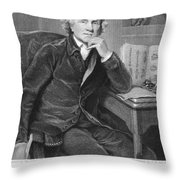 John Hunter (1728-1793) Throw Pillow