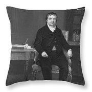 John Jacob Astor Throw Pillow