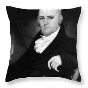 John Laurance (1750-1810) Throw Pillow