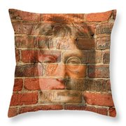 John Lennon 2 Throw Pillow